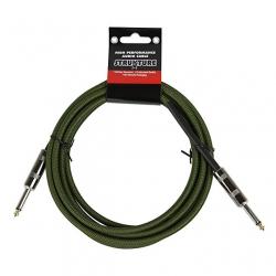 Strukture SC10MG 3 Metre Gitar Kablosu (Yeşil)