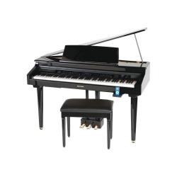 Suzuki MDG-100 Micro Grand Dijital Piyano (Parlak Siyah)