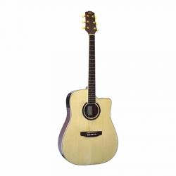 SX DG200CE+/NA Elektro Akustik Gitar