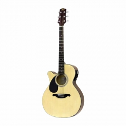SX EAG1K/LH/NA Solak Elektro Akustik Gitar