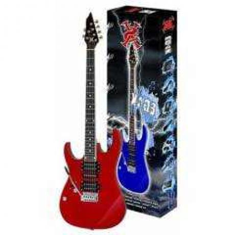 SX EG4K /LH/ MRD Solak Elektro Gitar Seti (Kırmızı)<br>Fotoğraf: 1/1
