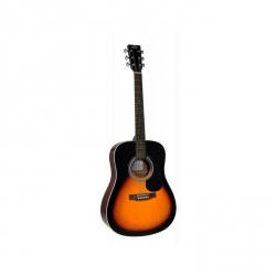 SX MD160/VS Dreadnought Akustik Gitar (Vintage Sunburst)