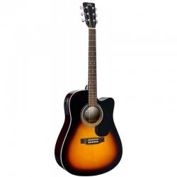 SX MD160CE/VS Elektro Akustik Gitar