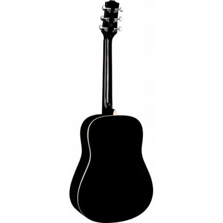 SX SA1 SK BK Dreadnought Akustik Gitar Seti<br>Fotoğraf: 2/5
