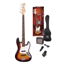 SX SB1-SK-3TS Bas Gitar Seti