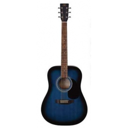 Sx SD1-BUS Akustik Gitar ( Mavi )