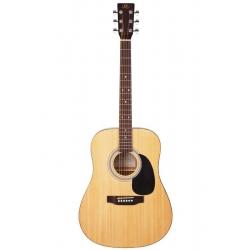 SX SD1 NA Dreadnought Akustik Gitar