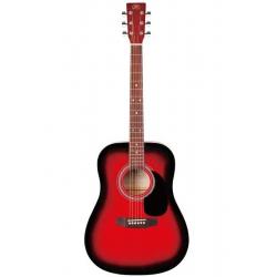 SX SD1 RDS Dreadnought Akustik Gitar