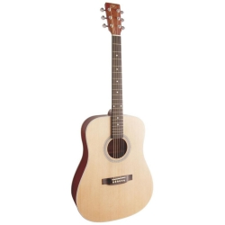 SX SD204 Dreadnought Akustik Gitar (Natural)