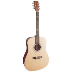 SX SD204 Dreadnought Akustik Gitar (Natural)