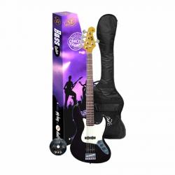 SX SJB62+/5/BK Bass Gitar