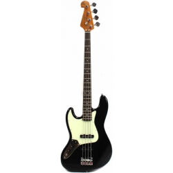 SX SJB62+ LH OWH Jazz Kasa Solak Siyah Bas Gitar