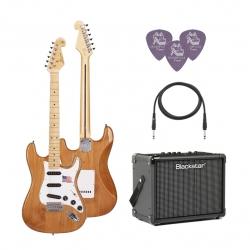 SX SST/ALDER/NA Elektro Gitar Seti (Natural)