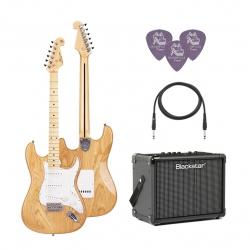 SX SST/ASH/NA Elektro Gitar Seti (Natural)