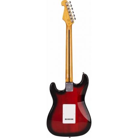 SX SST57 2TS Stratocaster Elektro Gitar<br>Fotoğraf: 3/4