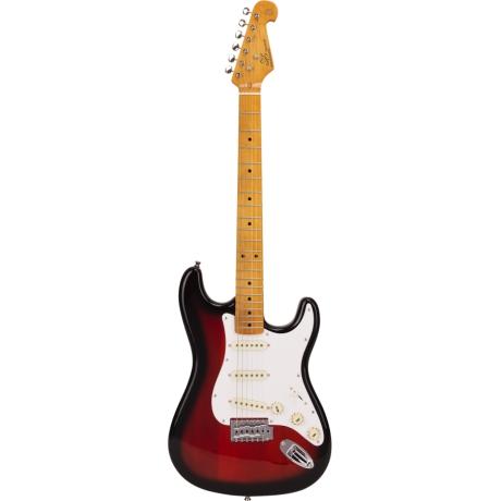 SX SST57 2TS Stratocaster Elektro Gitar<br>Fotoğraf: 1/4