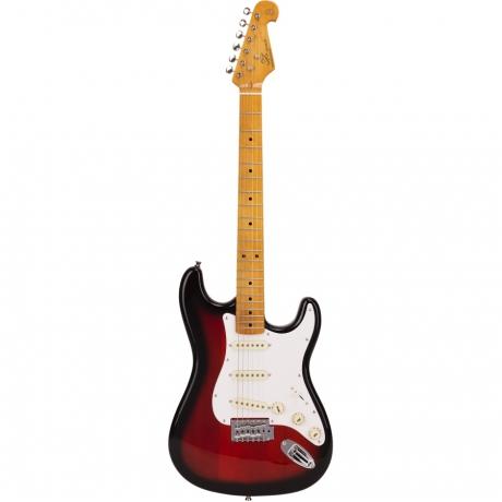 SX SST57 2TS Stratocaster Elektro Gitar Seti (Vintageburst)<br>Fotoğraf: 2/5