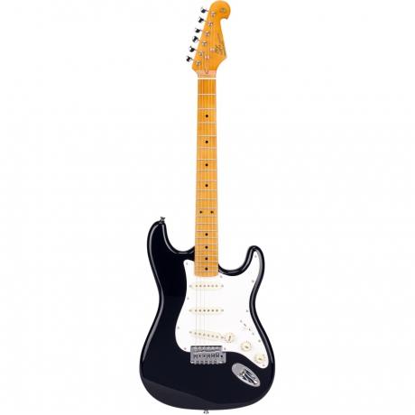SX SST57 /BK Elektro Gitar Seti (Siyah)<br>Fotoğraf: 3/5