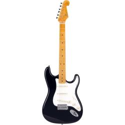 SX SST57 BK Stratocaster Elektro Gitar (Black)