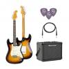 SX SST62 /3TS Elektro Gitar Seti (Sunburst)<br>Fotoğraf: 1/5