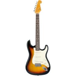 SX SST62 3TS Stratocaster Elektro Gitar