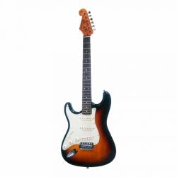 SX SST62 3TS Stratocaster Solak Elektro Gitar