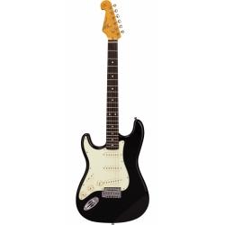 SX SST62 BK Stratocaster Solak Elektro Gitar