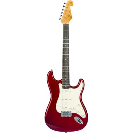 SX SST62 CAR Stratocaster Elektro Gitar<br>Fotoğraf: 1/4