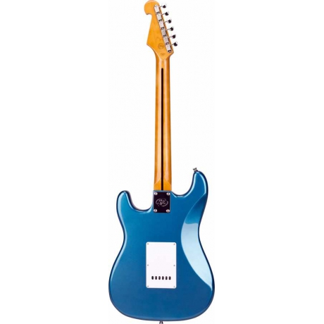SX SST62 LPB Stratocaster Elektro Gitar<br>Fotoğraf: 3/4