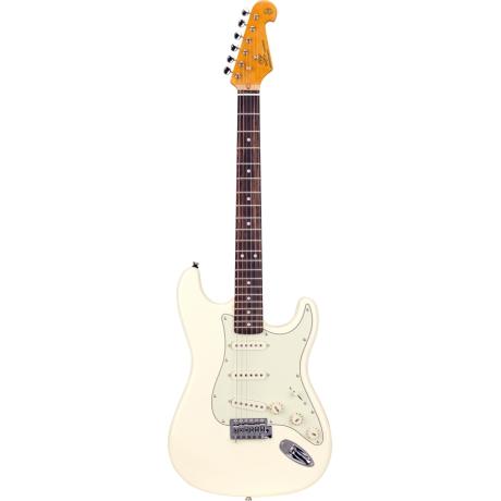 SX SST62 VWH Stratocaster Elektro Gitar<br>Fotoğraf: 1/4