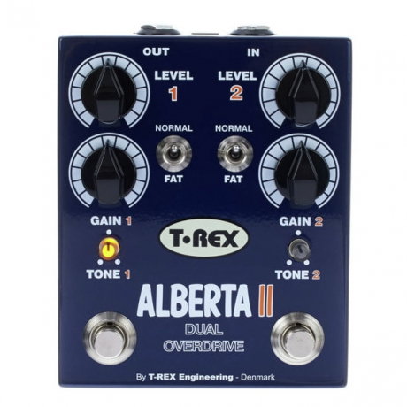 T-Rex Alberta II Double Overdrive Bas Gitar Pedalı<br>Fotoğraf: 1/1
