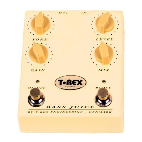T-Rex Bass Juice Overdrive Bas Gitar Pedalı<br>Fotoğraf: 1/1