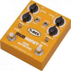 T-Rex Mudhoney II Double Distortion Pedalı