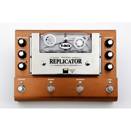 T-Rex Replicator Analog Tape Delay Pedalı<br>Fotoğraf: 1/4