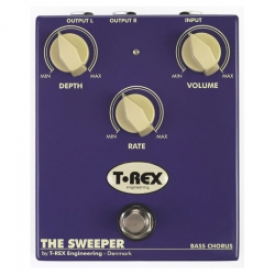 T-Rex Sweeper Bas Gitar Reverb/chorus/vibrato/tremolo Pedalı
