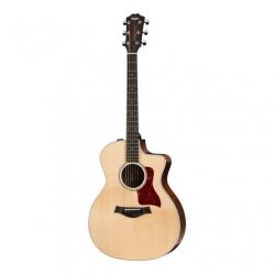 Taylor 214ce-CF DLX Elektro Akustik Gitar (Natural)