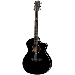 Taylor 214ce Deluxe Elektro Akustik Gitar (Siyah)