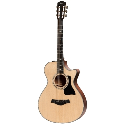 Taylor 312ce 12-Fret V-Class Elektro Akustik Gitar (Natural)