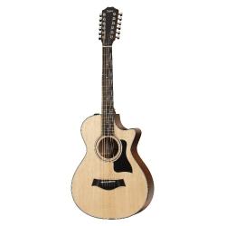 Taylor 352ce 12-Fret 12 Telli Elektro Akustik Gitar (Natural)