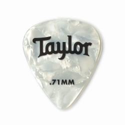 Taylor Celluloid 351 Beyaz Sedef 12li Pena (0.71mm)