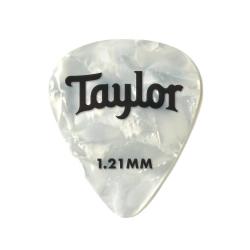 Taylor Celluloid 351 Beyaz Sedef 12li Pena (1.21mm)