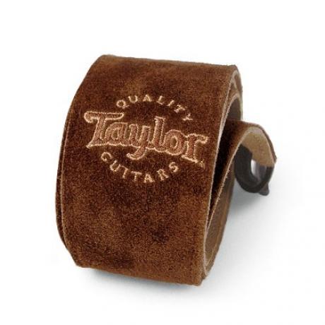 Taylor Chocolate Suede Logo Gitar Askısı<br>Fotoğraf: 1/1