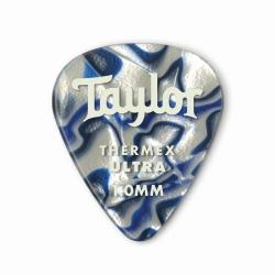 Taylor Prem 351 Thermex Ultra Picks Blue Swirl 6lı Pena Seti (1.00mm)
