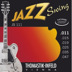 Thomastik JS111 Jazz Swing Elektro Gitar Teli (11-47)