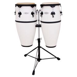 Toca 2300FWH 10x11 Inch Conga Set (Fibreglass Beyaz)