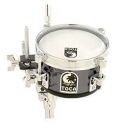 Toca T-408AS Acrylic 8 Inch Mini Timbales (Smoke)