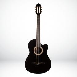 Toledo LC-3900C BK Cutaway Klasik Gitar (Siyah)