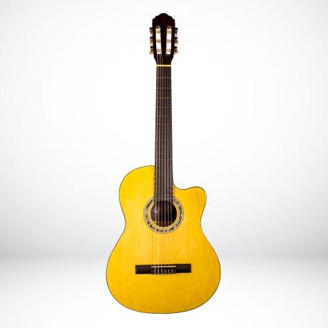 Toledo LC-3900C NL Cutaway Klasik Gitar (Natural)<br>Fotoğraf: 1/2