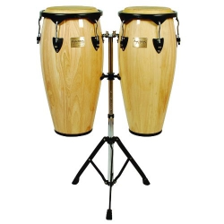 Tycoon 10'' & 11'' + Double Stand / Supremo Series Natural Congas