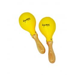 Tycoon Yellow Plastic Maracas